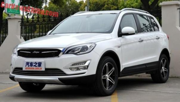 This is the Zotye Damai X5 for the Chinese auto market