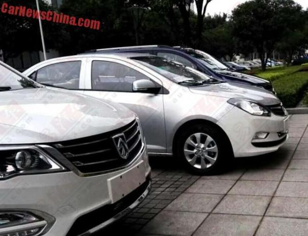 Spy Shots: Wuling Baojun 330 is Naked in China