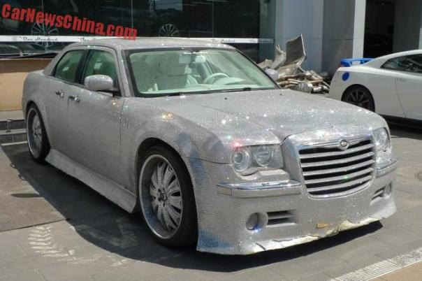 The super bling-bling Chrysler 300C from China
