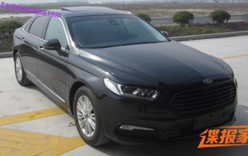 2016 ford taurus spy shots images galleries with a bite. Black Bedroom Furniture Sets. Home Design Ideas