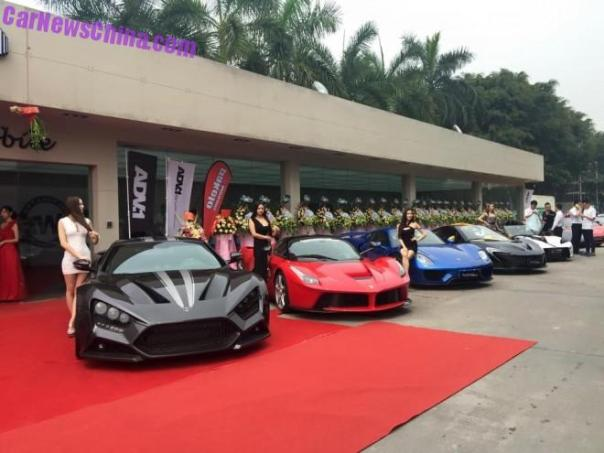 Impressive Wrap opens shop in China with a Zillion Supercars