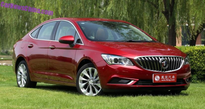 This Is The New Buick Verano For China Carnewschina Com
