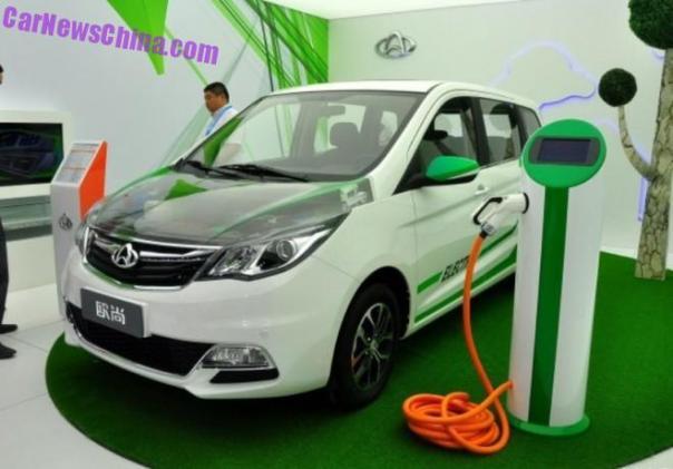 Changan Oushang MPV goes Electric in China
