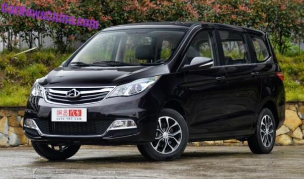 Changan Oushang MPV will launch in China in August
