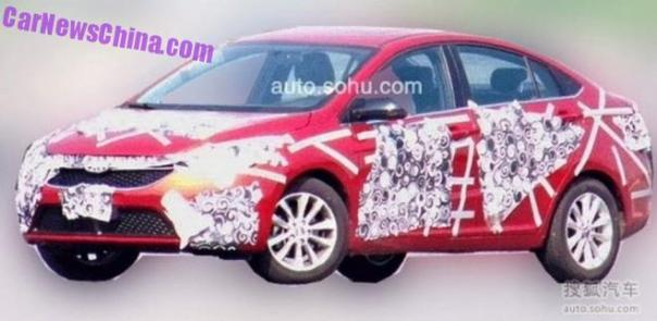 Spy Shots: Chery Arrizo 5 is Getting Ready for the Chinese auto market