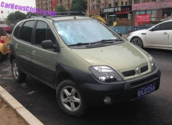 Spotted in China: Renault Scenic RX4