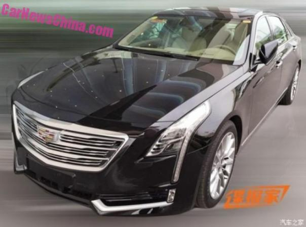 Spy Shots: Cadillac CT6 is Naked in China