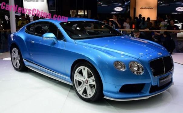 Bentley Continental GT London Edition debuts on the 2015 Chengdu Auto Show in China