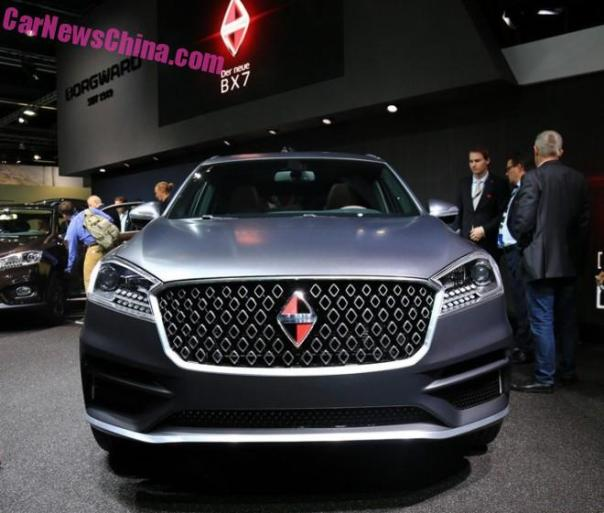 Borgward BX7 debuts on the Frankfurt Motor Show