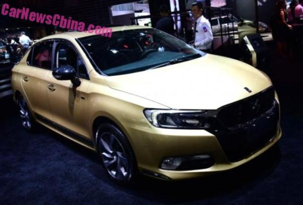Citroen DS 5LS 60th Anniversary Special Edition debuts on the 2015 Chengdu Auto Show in China