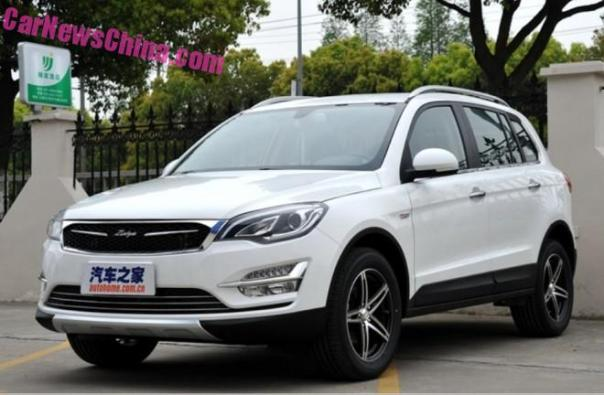 Zotye Damai X5 hits the Chinese car market