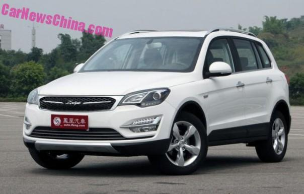 Zotye Damai X5 will hit the Chinese car market this Month