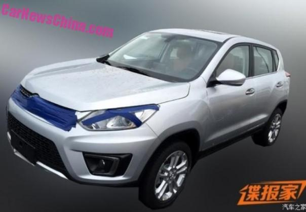 Spy Shots: Beijing Auto Senova X35 SUV for China