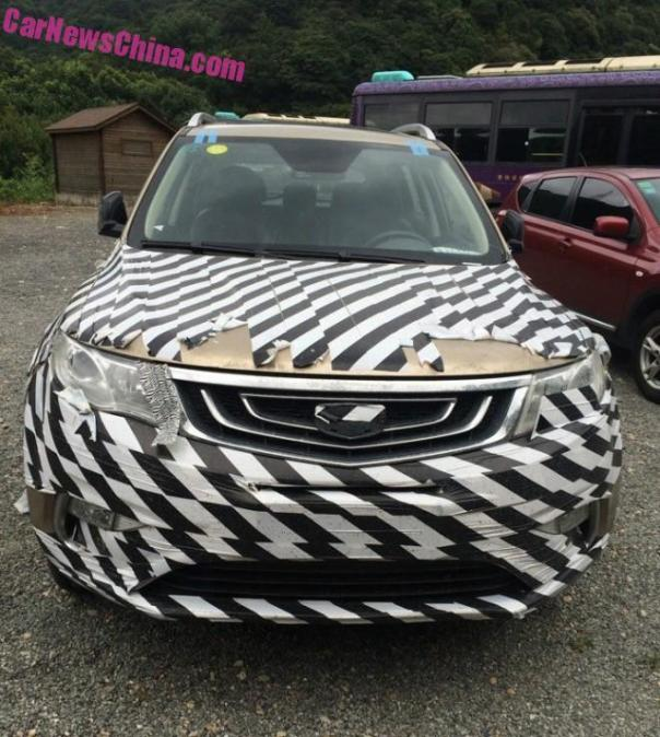 Spy Shots and a New Name: Geely NL-3 = the Geely Boyue