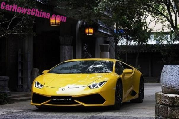 China gets a super cheap special edition Lamborghini Huracan