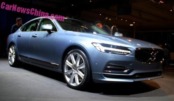 Volvo S90 unveiled in Sweden