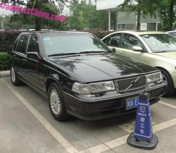 Spotted in China: a perfect Volvo S90 2.5 sedan