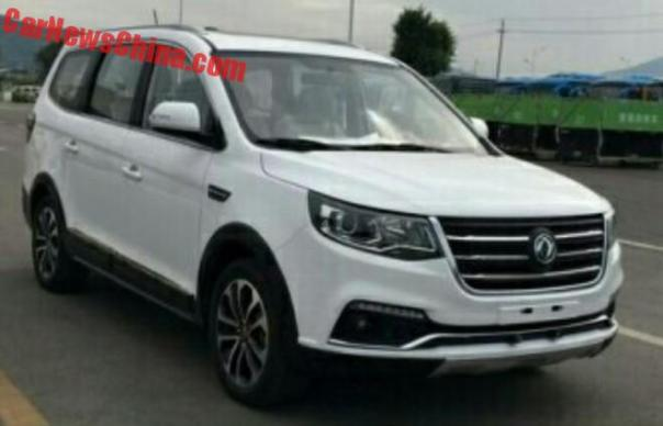 Spy Shots: Dongfeng Fengxing SX6 is Naked in China