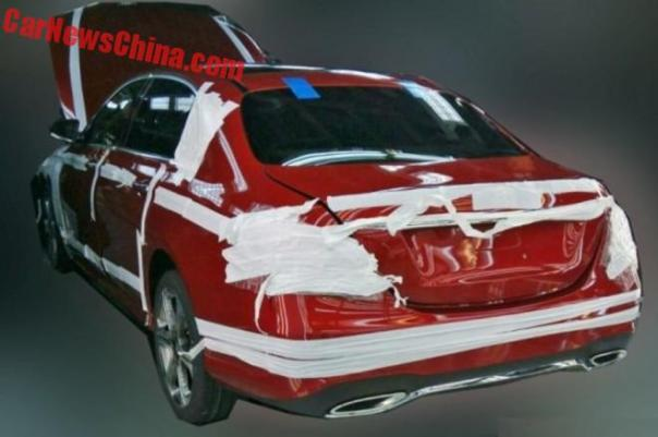 Spy Shots: 2017 Mercedes-Benz E-Class L testing in China