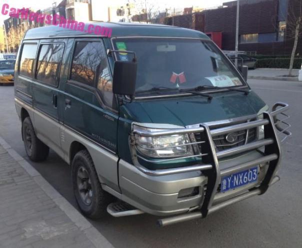 Spotted in China: Mitsubishi Delica 4WD