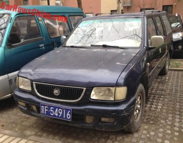 Spotted in China: the Shanghai Wanfeng Suwei SUV