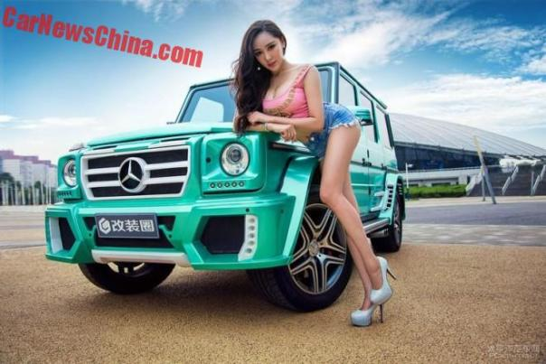 china-car-girl-g-class-4