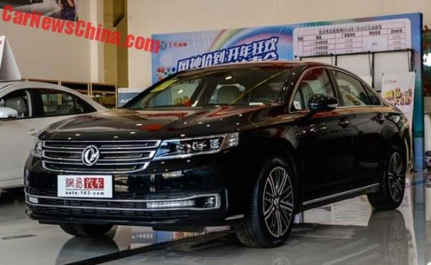 Dongfeng Fengshen A9 will launch in China on April 10