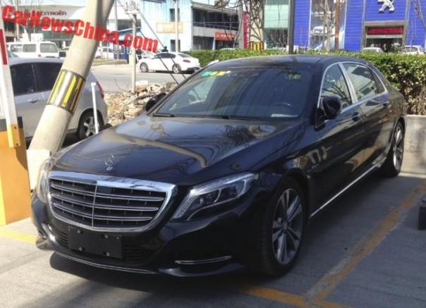 Spotted in China: Mercedes-Maybach S400 4Matic