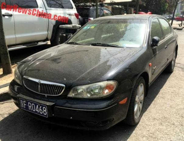 Spotted In China: A33 Nissan Cefiro Brougham VIP