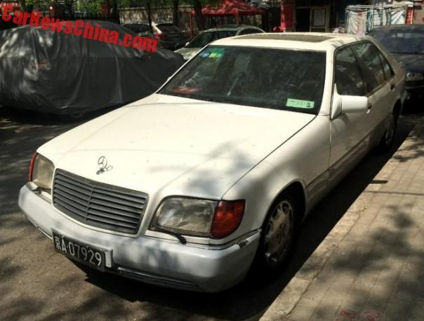 Spotted In China: W140 Mercedes-Benz S500 In White