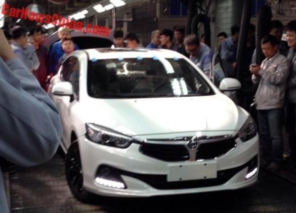 Production Of The Brilliance H3 Has Started In China