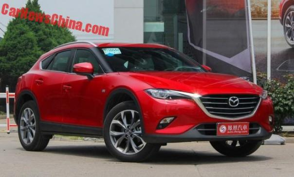 Mazda CX-4 Launched On The Chinese Car Market