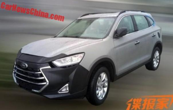 Spy Shots: JAC Refine S7 SUV For China