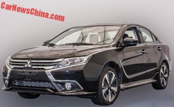 New Mitsubishi Lancer EX