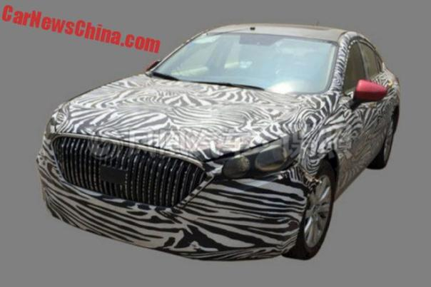 Spy Shots: Hongqi H5 Testing In China