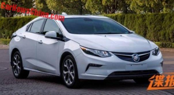 Buick Velite Is A Chevrolet Volt For China