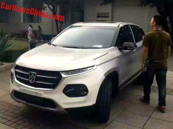 This Is The New Baojun 510 Compact SUV For China