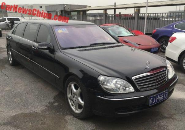 Spotted In China: W220 Mercedes-Benz S600 Pullman Limousine