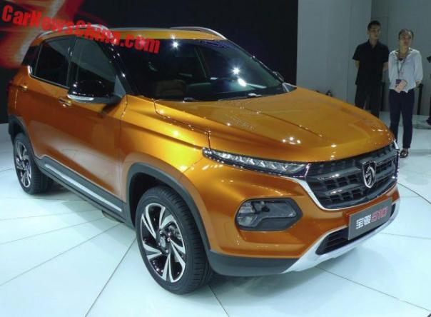 Baojun 510 Is A Daring New Compact SUV For China
