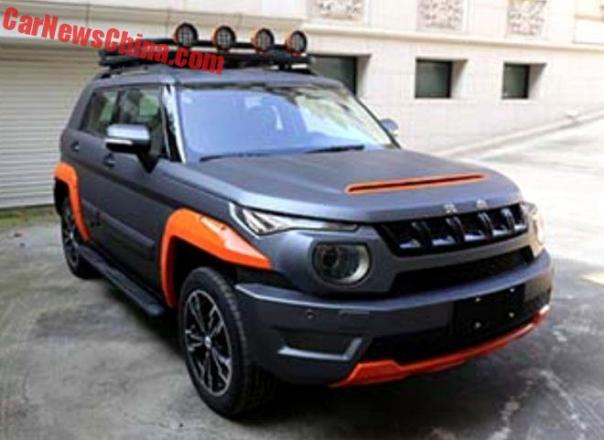 Beijing Auto BJ20 To Get Sporty And Classy In China