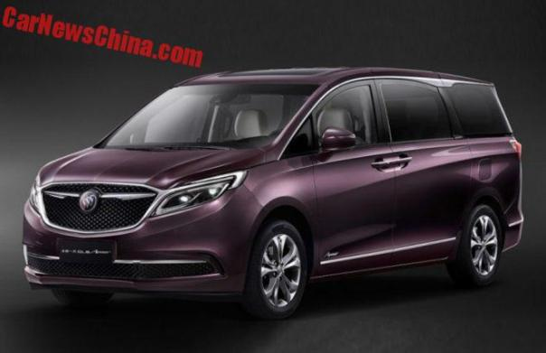 Buick GL8 Avenir Is a Luxurious MPV For China