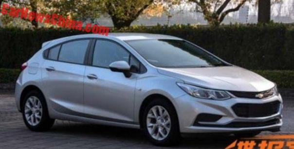 This Is The New Chevrolet Cruze Hatchback For China