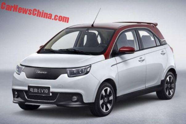 This Is The New DEARCC EV10 For China