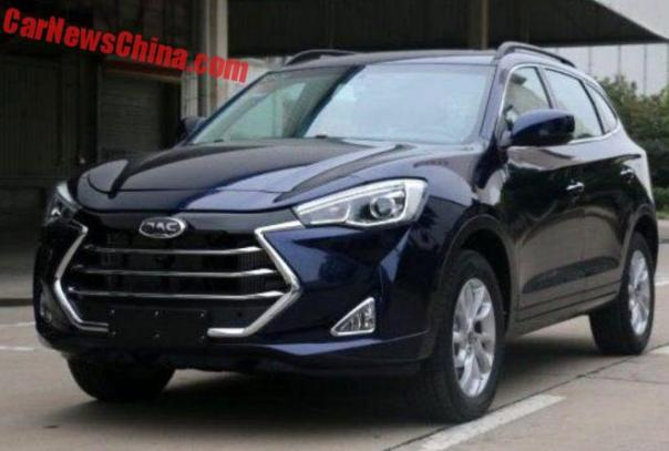 New Photos Of The JAC Refine S7 SUV For China