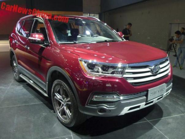 Lifan X80 Debuts At The Guangzhou Auto Show In China