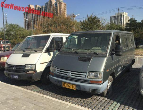 Spotted In China: Sanjiang Renault Trafic Times Two