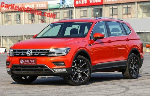Volkswagen Tiguan L Is Ready For The Chinese Car Market