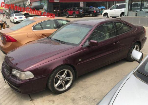 Spotted In China: First Generation Volvo C70 Coupe