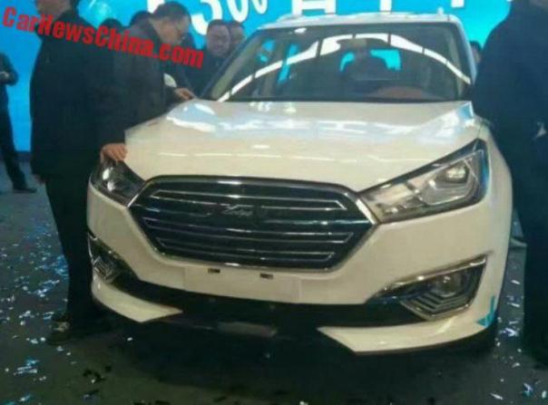 Zotye T300 SUV To Launch In China In Q1 2017