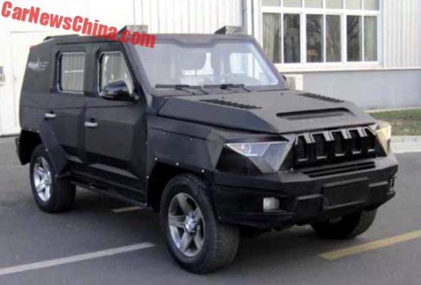 Beijing Auto Is Really Going To Make The BJ80 Riot Control Car Which Is Really A Luxury SUV